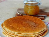 Wholegrain Yeast Pancakes #BreadBakers