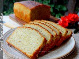 Yogurt Spice Loaf Cake