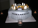 My cousin h.j.'s Grooms cake