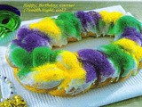 My First Shared Virtual King Cake Birthday Cake