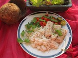Canadian Steamed Fish With Coconut Rice