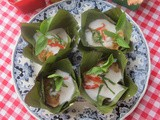 Thai Ho Mok Pla aka Steamed Curry Fish Custard