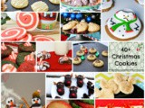 40+ Christmas Cookie Recipes #HandCraftedEdibles