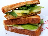 Avocado, Cucumber, & Pepper Jack Melt