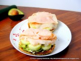 Avocado, Cucumber, & Turkey Sandwich