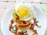 Breakfast Sandwich Stackers {Food 'n Flix}