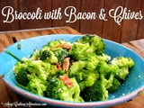 Broccoli with Bacon & Chives