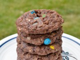 Brownie Oatmeal Cookies