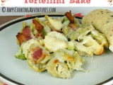 Cheesy Bacon Tortellini Bake