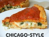 Chicago Style Pizza {Recipe Redo}