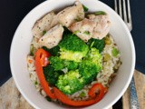 Chicken & Broccoli Rice Bowls #SecretRecipeClub