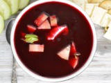 Chilled Borscht #SoupSwappers