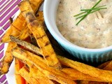 Chipotle Sour Cream Dip for Sweet Potato Fries