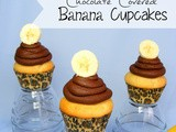 Chocolate Covered Banana Cupcakes: srs