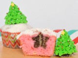 Christmas Tree Cupcakes #SecretRecipeClub