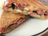 Corned Beef & Gouda Sandwich