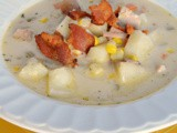 Creamy Ham, Potato & Corn Chowder