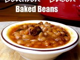 Crockpot Bacon Bourbon Baked Beans