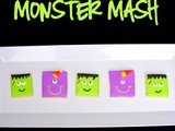 Cute Monster Cookies & Halloween Costume Reveal