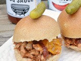 Easy Crockpot bbq Pulled Pork #CookoutWeek