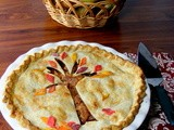 Fall Leaf Apple Pie