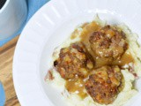 French Onion Soup Meatballs
