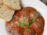 Garlic-Herb Tomato Sauce with Italian Meatballs #SecretRecipeClub