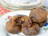 Gluten-Free Vegan Chocolate Chip Peanut Butter Cookie Bites #HandCraftedEdibles