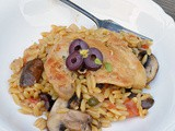 Grecian Chicken & Orzo