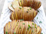 Hasselback Potatoes #SecretRecipeClub