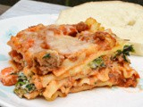 Hearty Meat & Vegetable Lasagna