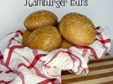 Honey Wheat Hamburger Buns
