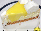 Lemon Cheesecake with Lemon Curd Topping