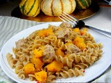 Naked Ravioli with Squash and Browned Butter Sauce
