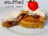 Nutella-Cream Cheese Stuffed French Toast