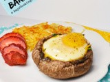 Portobello Baked Eggs