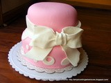 Pretty in Pink Cake & White Almond Sour Cream Cake