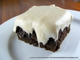 Pumpkin Brownies with Pumpkin Spice Cream Cheese Frosting