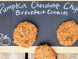 Pumpkin Chocolate Chip Breakfast Cookies