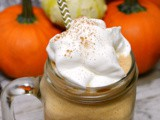 Pumpkin Pie Coffee Milkshake #SecretRecipeClub
