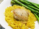 Saffron Rice & Chicken #foodnflix #foodiesread