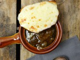 Slow Cooker French Onion Soup #FantasticalFoodFight #FoodnFlix