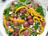 Spinach Salad with Roasted Grapes #FoodNFlix