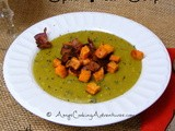 Split Pea Soup with Sweet Potato Hash