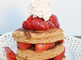 Strawberry Shortcake Pancakes #FantasticaFoodFight