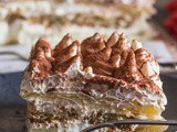 Easy No Bake Puff Pastry Tiramisu