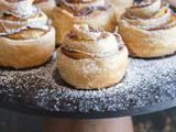 Easy Peach Puff Pastry Roses