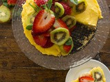 Fresh Fruit Tart With Italian Cream Filling