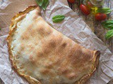 Homemade Fresh Veggie Calzone