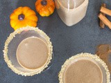 Homemade Pumpkin Pie Cream Liqueur
